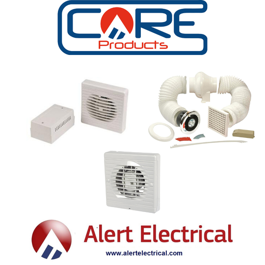 Core Products by Alert Electrical Extractor Fans now in Store and Online.