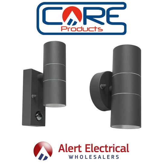 Core Lighting Anthracite Grey Up and Down Wall Light from Alert Electrical