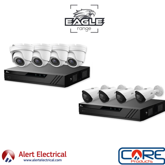 4k CCTV Systems with straight forward installation. Eagle IP 4K CCTV Systems
