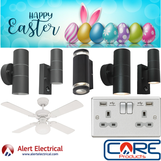 Easter Weekend Deals at alertelectrical.com start Thursday!