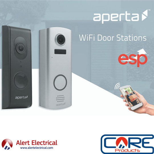 ESP Aperta Wired & Battery Wi-Fi Door Stations