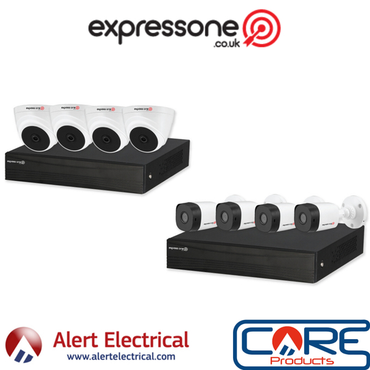 Reliable Domestic CCTV Solutions on a Budget. Introducing Express One CCTV Camera Systems