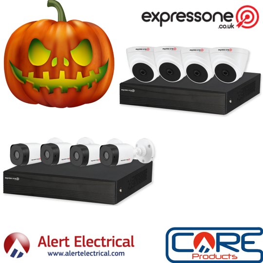 Scary Security Deals this Halloween on Express One CCTV