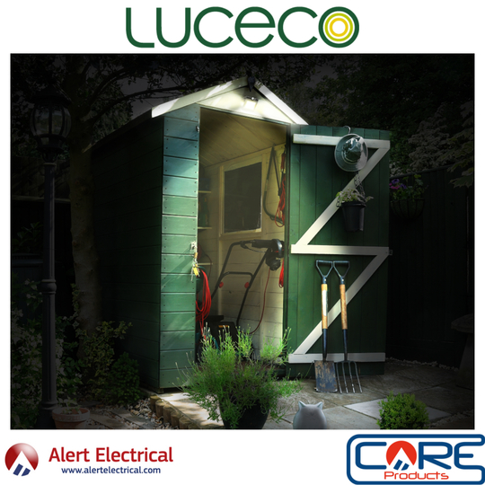 Luceco Guardian Wall Lights now available from Alert Electrical