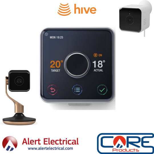 Hive Smart Home Products now at Alert Electrical