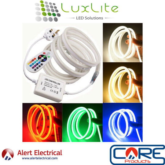 Flexible LED RGB Strip Kit that is so flexible its installation is simple and doesn't require any specific tools!