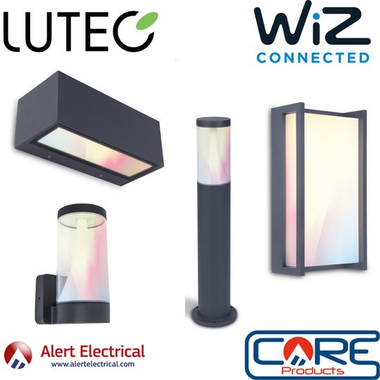 Make your Outdoor Life Smarter with Lutec WIZ Connected Outdoor Smart Lighting
