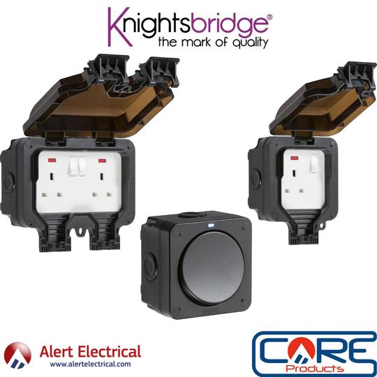 Comprehensive Range of Outdoor Wiring Accessories from Knightsbridge