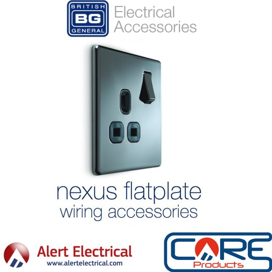 Why not update those Switches & Sockets with the BG Nexus Screwless Range