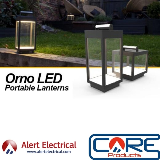 The Ideal item for when you're relaxing in the garden. Ansell ORNO LED Portable Lanterns