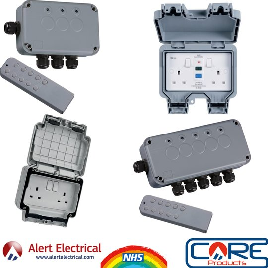 Outdoor Switch Box's are the must have for those Newly purchased Garden Lights & Hot Tubs!