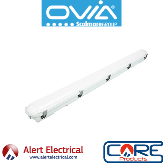 Now in Store & Online, Ovia U-Lite Non-Corrosive Utility LED Light Fittings