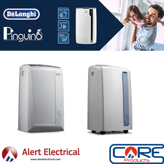 De'Longhi Pinguino Portable Air Conditioning Range Now available from Alert Electrical