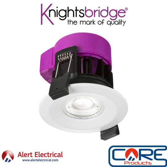 Managers Special. Knightsbridge IP65 6W LED Fire Rated CCT Downlight