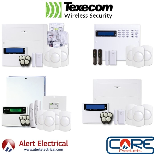 Texecom Wireless Alarm Systems are changing, and stock is now available.
