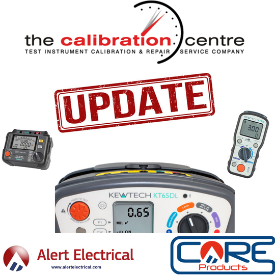Alert Electrical Calibration Day Update