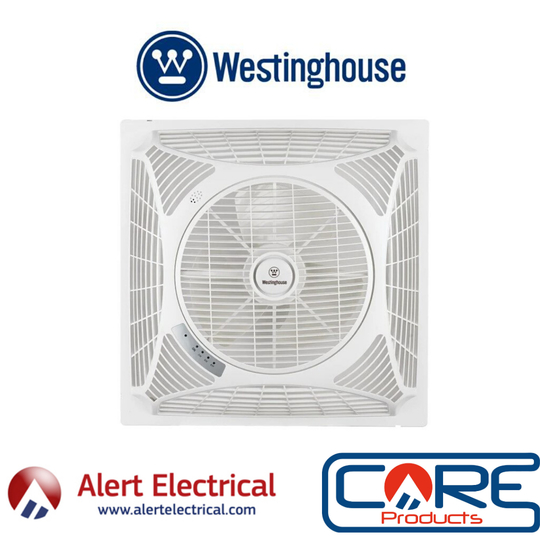 Westinghouse Windsquare recessed ceiling fan is great for any room with suspended ceilings.