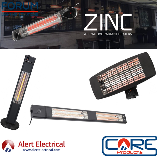 Zinc Radiant Heaters are the perfect Garden heating solution.