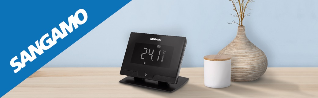 Introducing the new Smart Wi-Fi thermostat part of the Sangamo range of heating controls and time switches.