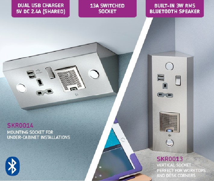 A 3 in 1 solution that a perfect upgrade to any kitchen, bedroom or hotel room.