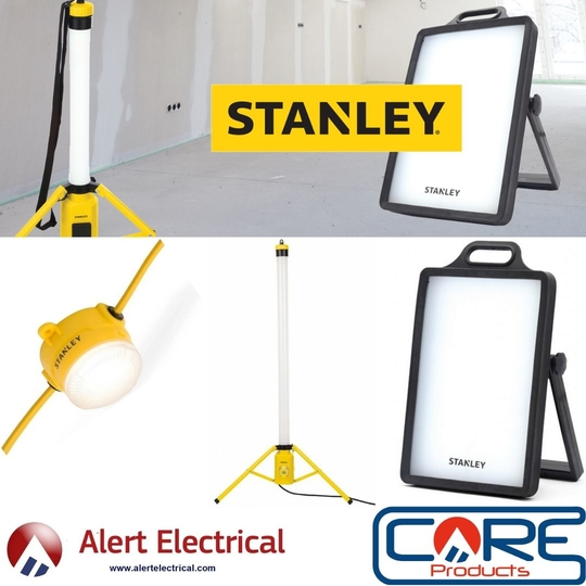 Robust, Durable LED work and inspection Lighting from Stanley Now in stock at all Alert Electrical Branches & Online.