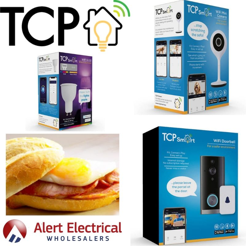 Installers, Come and see how you can increase your profitability & Breakfast with the TCP Smart Breakfast Morning @ Alert Electrical Ilkeston