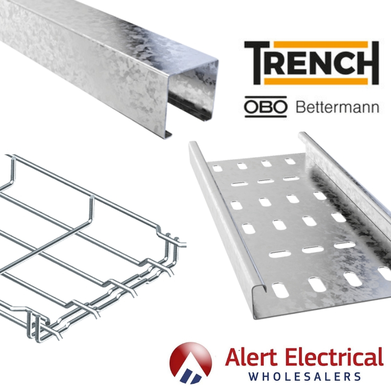 Trench Cable Management Now In Stock At Alert Electrical