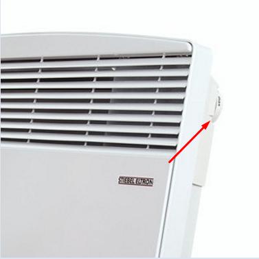 Timer option on a Stiebel heater