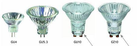 GU10  MR16 Reflector Spotlights