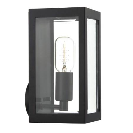 där lighting Era Outdoor Wall Light IP44 Black ERA0722