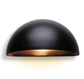 Firstlight 8750BK York Exterior Wall Light Black