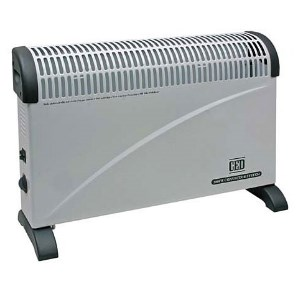 A simple convector panel heater with frost protection