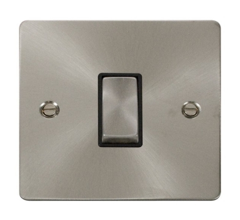 Click DEFINE Flat Plate Brushed Steel