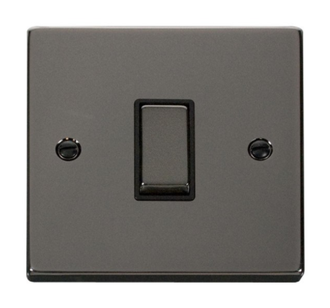 Click Deco Ingot Black Nickel Light Switch