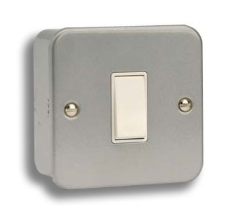 Metalclad Light Switch