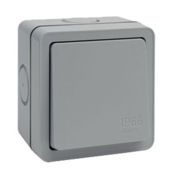 Hager Sollysta IP66 Weatherproof Light Switch