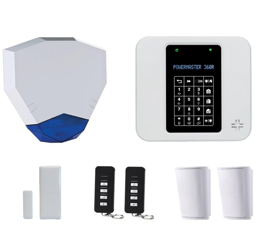 Visonic PowerMaster-360R Wireless Alarm System With Wi-Fi   KITPM360RWHEX