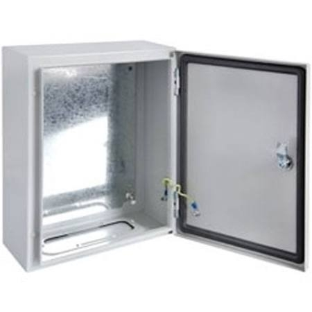IP66, IK10 Lockable solid door Steel Enclosures - DEDS Series