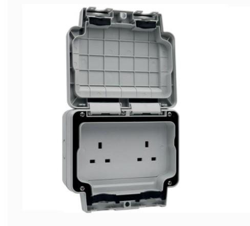 Hager Sollysta IP66 Weatherproof Socket