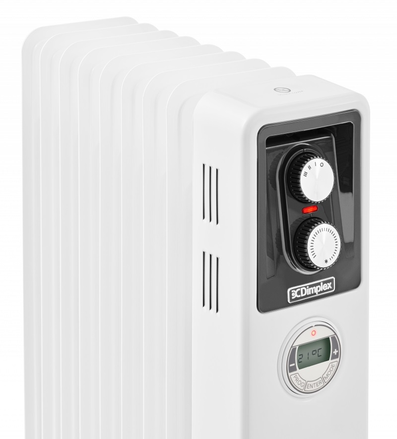 Dimplex 2.0kW Electric Oil Free Column Radiator with Timer | ECR20Tie