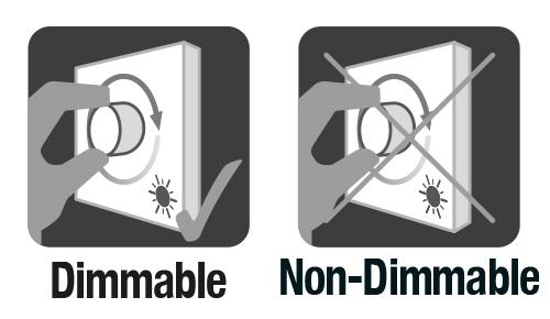 LED Light Bulbs Dimmable vs non-dimmable options