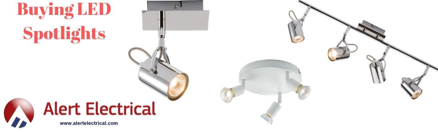 Buying LED Spotlights - Alert Electrical