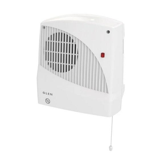 Glen 2kW Lot 20 Bathroom Downflow Fan Heater | GDF20E