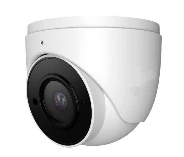 6MP IP Turret Cameras White